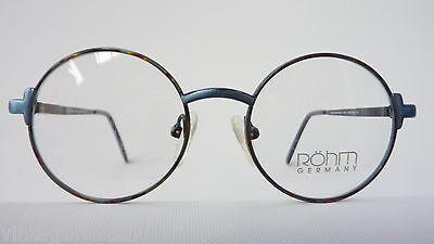 Röhm Kinderbrille Mädchenbrille unisex oval Federbügel blau grün preiswert neu 2
