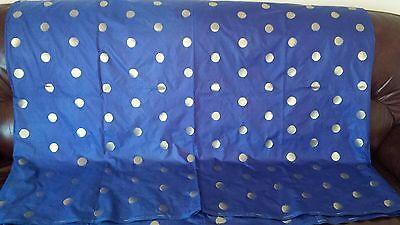 New Pure Soft Silk Royal Blue Gold Floral Zari Saree Sari Party Wedding Bridal 4