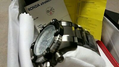 Invicta Arsenal Reserve 63mm Grand 15834 Swiss Made Quartz Chro Stainless Steel 7