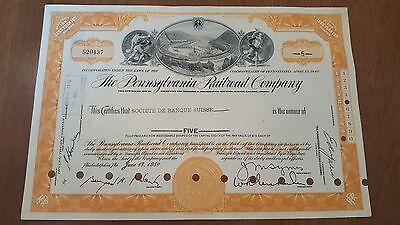 Monopoly Railroads Set 3 Stock certificates Reading Pennsylvania B&O Railroad