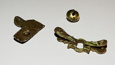 Perfect Set of Golden plated artifacts .  Hunnu,Alans. ca 3-5AD. 9