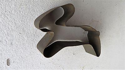 Osterhase  Ausstechform Hase aus einer Bäckerei Ostern Bäcker Backform Metall 6
