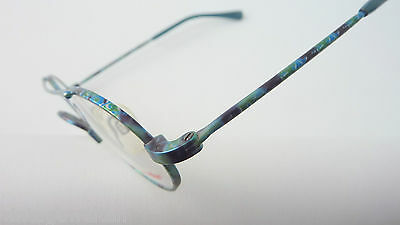 Titanflex superrobuste, flexible Kinderbrille Metallfassung Pilotenform GR:M NEU 3