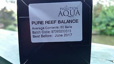 Evolution Aqua Pure Reef Balance - Marine Aquarium Bacteria Starter Balls (60)