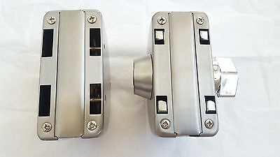 12mm Gl Door Lock Durable Stainless Steel Double Bolts