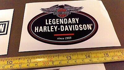 LOT of 10 Harley Davidson stickers for car truck Bike Helmet tool box Free Ship 4
