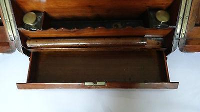 Antique 19Th Century Burr Walnut Stationery Box - Stylish & Original For A Loved 5