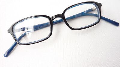 95d12e75ed5d2 1 von 5Kostenloser Versand Gestell Brille Fassung Damen Herren schwarz blau  Kunststoff frame eckig Gr S