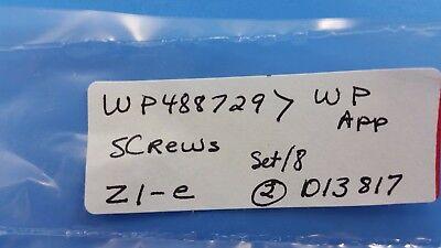 WP488729 Whirlpool Appliance Screws Set/8; Z1-e 4