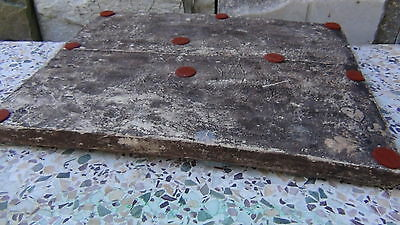 "ANTIQUE 18c-19c ARABIC ISLAMIC POTTERY GLAZED ""FLOWERS"" WALL PLAQUE 10"