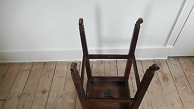 ANTiQUE / VINTAGE SCHOOL STOOL  Possibly Victorian or Edwardian 4