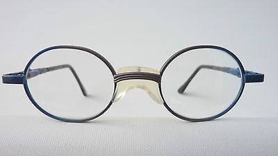 DI extrakleine Kinderbrille Metallgestell Kunststoff-Federbügel Babyfassung NEU 2
