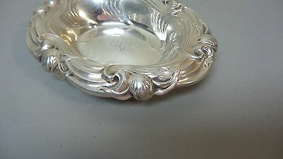 """Lovely Whiting Mfg. Co. Sterling Silver Art Nouveau Period 7"""" Dish 3"""