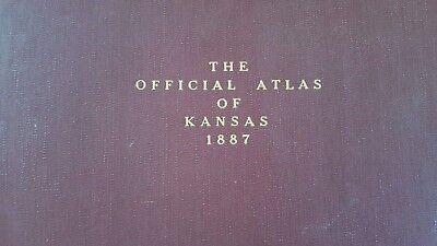 Antigüedad Mapa - Garnett,Reserva,Willis,Hamlin & Robinson - 1887 Kansas Atlas 7