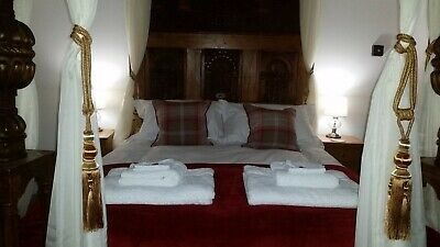 New Year 2020 - 21 Holiday Cottage Four Poster Bed Hot Tub Lake District Cumbria 5