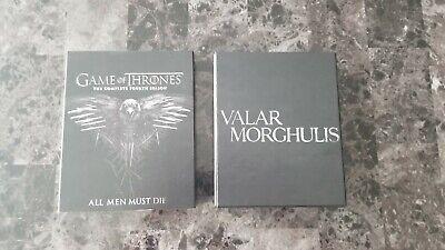 Game of Thrones Blu Ray Seasons Jon Snow Daenerys Targaryen Dragons Night King 5