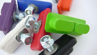 Kool Stop CONTINENTAL brake BMX pads for mag wheels Skyway Tuff ACS GREEN