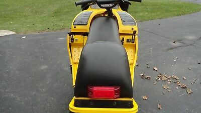 Ski-doo Mini Z 120 Youth Mini-Z Black / Yellow Seat Cover Fits 1998,1999,2000 7