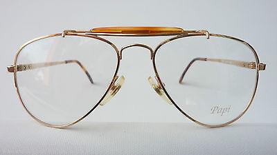 Papi/Italy megastarke Vintagebrille Kinderfassung Fliegerbrille Metall oldschool 2
