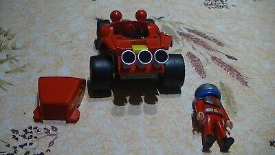 Playmobil s520 racing green buggy all terrain race friction motor 4183