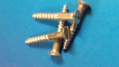 10 Holzschrauben Alu DIN97 3,0x20 Aluminium Igerit Modellbau Restaurieren Antik