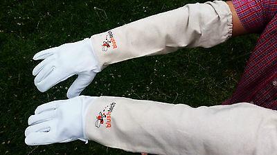Beekeeping gloves Beekeeper protective Bee gloves 100% Leather & Cotton Zean 4