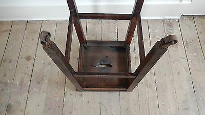 ANTiQUE / VINTAGE SCHOOL STOOL  Possibly Victorian or Edwardian 7