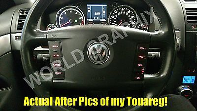 Set of Stickers to repair the buttons on your VW Touareg