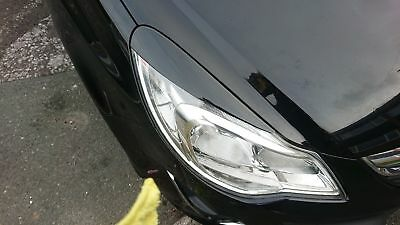 Vauxhall corsa D Headlamp eyebrows eyelids spoilers VXR Artic 7