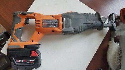 1x Ridgid 18V Dirll Tools Adapter Work with Milwaukee M18//XC 18V Li-Ion Battery