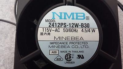 NMB 2412PS-12W-B30 4.5W 6CM 115V Axial Fan Fan High Temperature