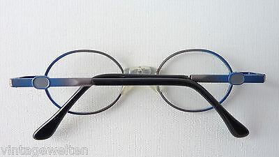 DI extrakleine Kinderbrille Metallgestell Kunststoff-Federbügel Babyfassung NEU 4