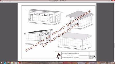 9 of 12 plans studio garage blueprints plans mancave building plan contemporary shed - Garage Blueprints