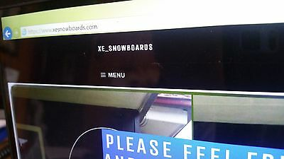 Brand new BURTON BLUNT Flying V snowboards  (postage can be arranged)