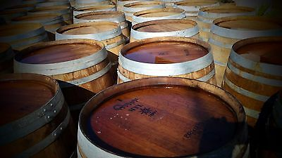 Four 4 Used Oak Wine Barrels Free Shipping 89500 Picclick