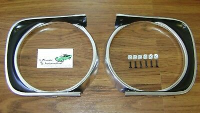 Camaro 67 Standard Grill 77pc Kit w/Moldings/Headlamp Bezels/Hardware non-RS