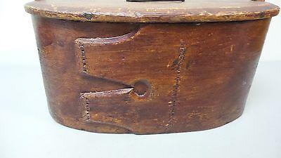 NICE 19TH CENTURY HAND MADE WOODEN NORWEGIAN BRIDE'S BOX PAINT, dated 1824 3