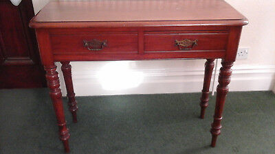 victorian mahogany occasional / side table  collection only 4