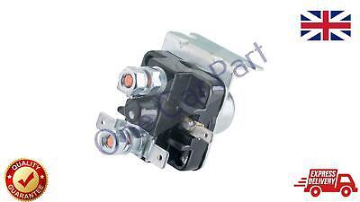 24V For Lucas 76732 Srb321 Type Starter Motor Universal Solenoid Bulk Head 3