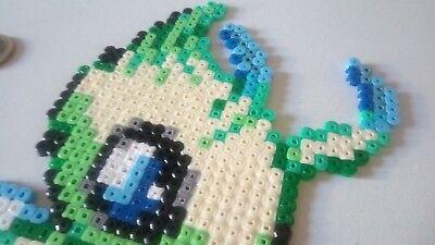 Celebi Pokemon Legendaire Perler Beads Pixel Art Eur 9 20 Picclick Fr