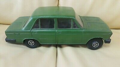 Vintage Lada Vaz 2106 Large Toy Car Model 1980 Ussr Russia Cccp