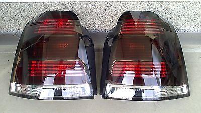 Schwarze Rückleuchten Lasierung Lasur Lasieren Ihrer Opel Zafira B Rückleuchten