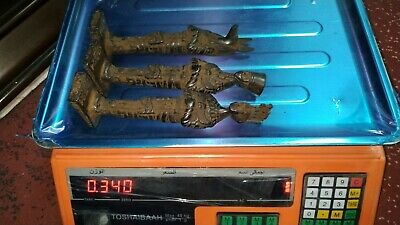 3 Rare Pharaonic statues of King Anubis, King Ramses and Queen Nefertiti 9