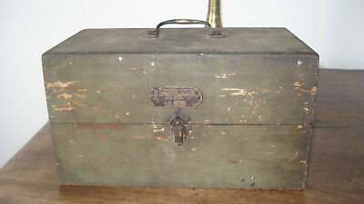 3 boites anciennes bois Le Galvanic Solere + encrier fonte+ pots loft usine déco 6