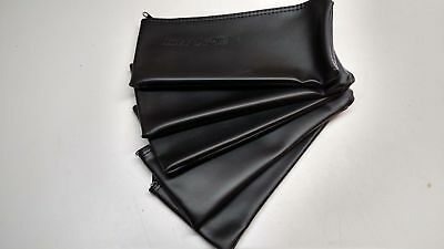 5x Black Leather Shure Mic Protective Storage Bags Pouches for SM58 SM57 Mics 3