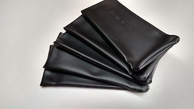 5x Black Leather Shure Mic Protective Storage Bags Pouches for SM58 SM57 Mics 4