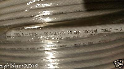 Carol C3528 RG11/U Premium FFEP/PVDF Plenum Direct Burial Coaxial Cable/100ft