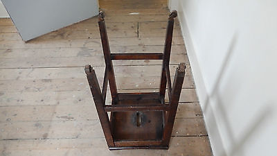 ANTiQUE / VINTAGE SCHOOL STOOL  Possibly Victorian or Edwardian 8