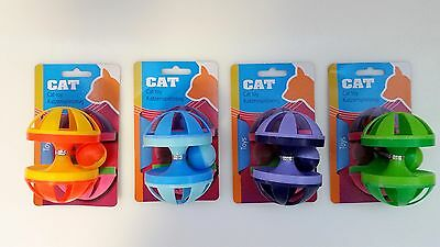 Spielzeuge mit Glocke Ball Katzenspielzeug Katze Rassel Spielball Neu