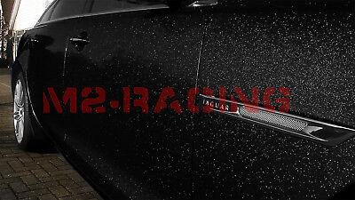 "*60/""x60/"" High Gloss Glitter Black Sparkle Car Vinyl Wrap Sticker Decal Sheet DIY"